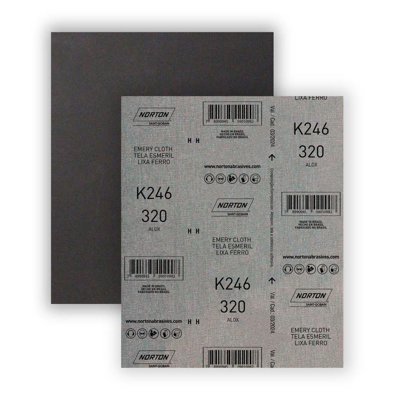 LIXA FERRO G320 K246 NORTON -