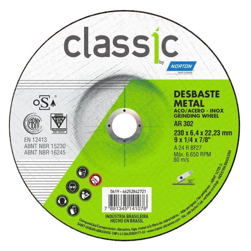 DISCO DESBASTE FE 9 230BDA600 CLASSIC NORTON