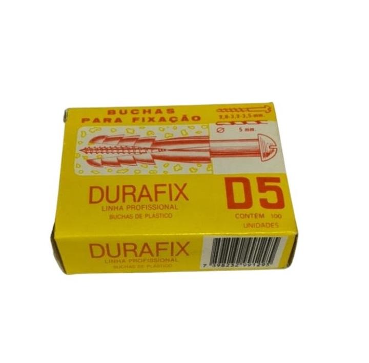 BUCHA NYLON D-5 (CX C/ 100) DURAFIX