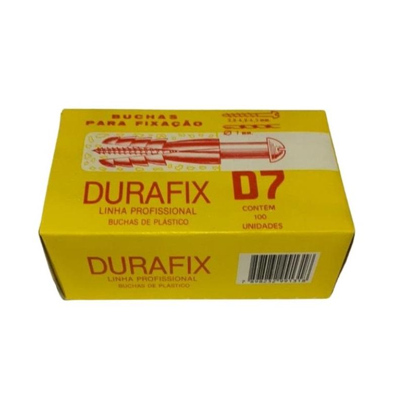 BUCHA NYLON D-7 (CX C/ 100) DURAFIX