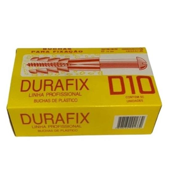 BUCHA NYLON D-10 (CX C/ 50) DURAFIX