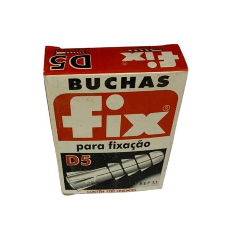 BUCHA NYLON D-5 (CX C/ 100) FIX