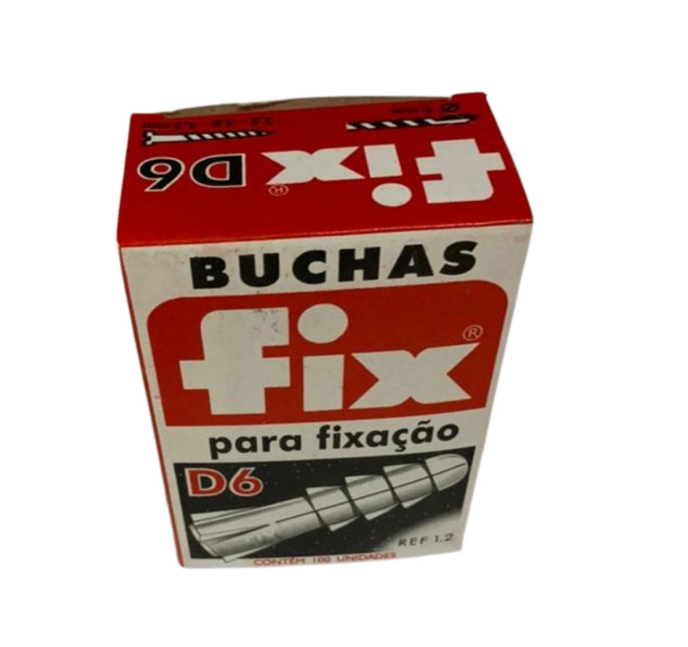 BUCHA NYLON D-6 (CX C/ 100) FIX