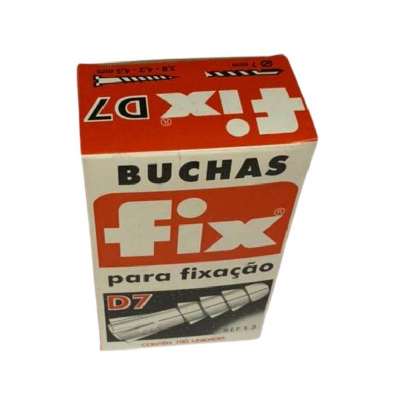BUCHA NYLON D-7 (CX C/ 100) FIX