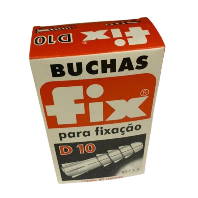BUCHA NYLON D-10 (CX C/ 50) FIX