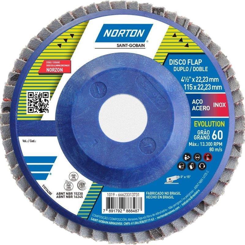 DISCO FLAP 115 G60 R822 EVOLUTION NORTON -