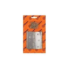 DOBRADICA CANTO 3.1/2 850 ZINC (CART C/ 3) SILVANA