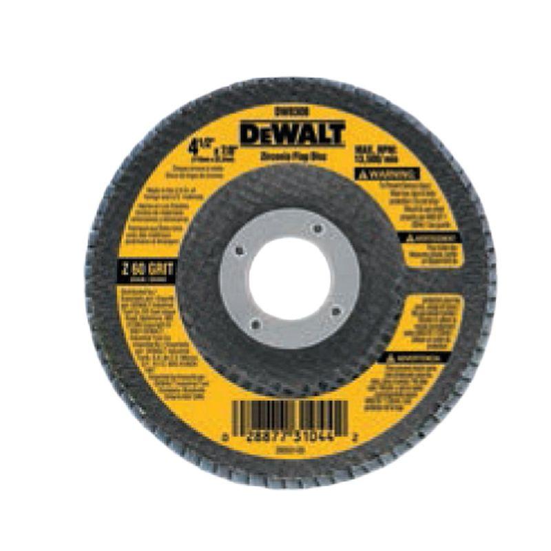 DISCO FLAP 115 GR60 DW8308 DEWALT - PP - SALDAO