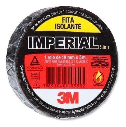 FITA ISOLANTE 18X5 IMPERIAL 3M
