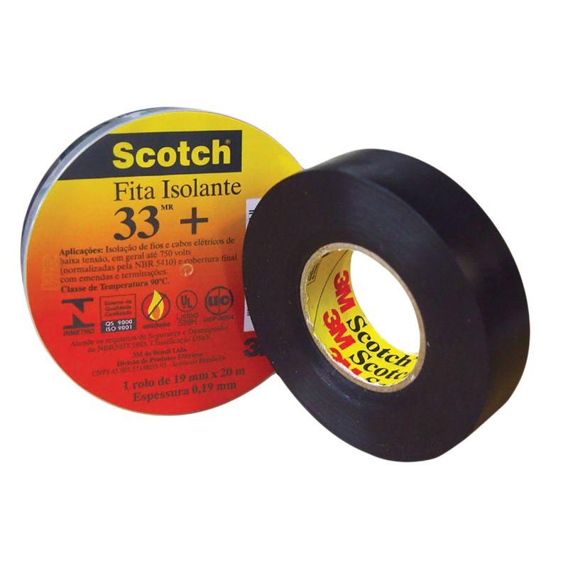 FITA ISOLANTE 19X5 33+ SCOTCH 3M
