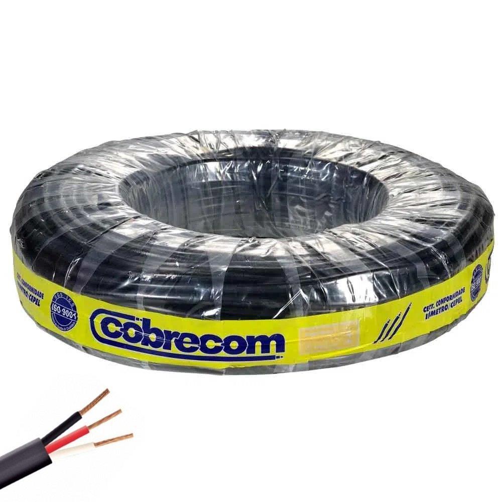 CABO FLEX PP 500V 3X1.5 PR COBRECOM