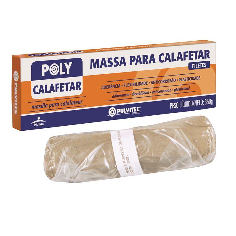 MASSA CALAFETAR CINZA ESC 1KG UA005 PULVITEC