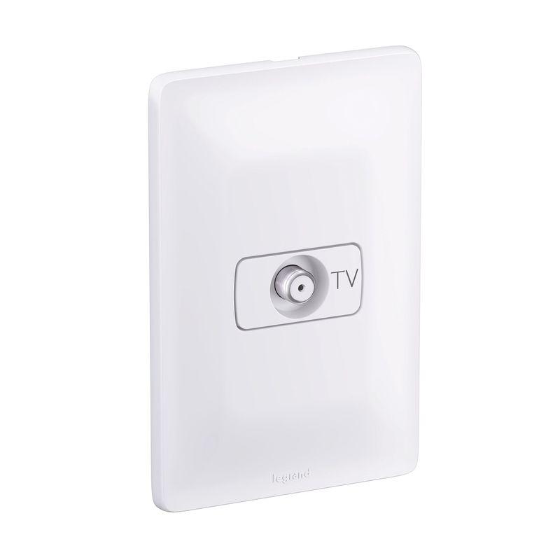 TOMADA ANTENA TV 4X2 680127 ZEFFIA