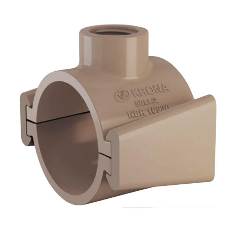 COLAR TOMADA PVC C/ TRAVA 60X3/4 1327 KRONA