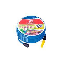 MANGUEIRA JD PVC 10M AZ ECOFLEX 618 PLASTMAR