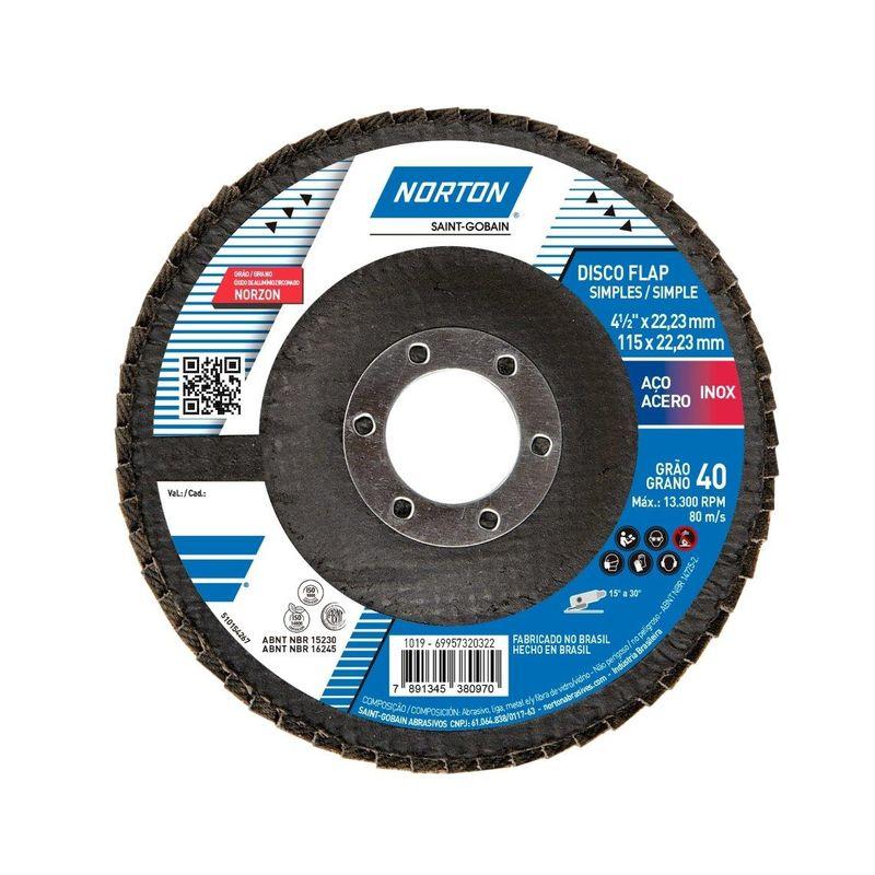 DISCO FLAP 115 G40 R822 NORTON