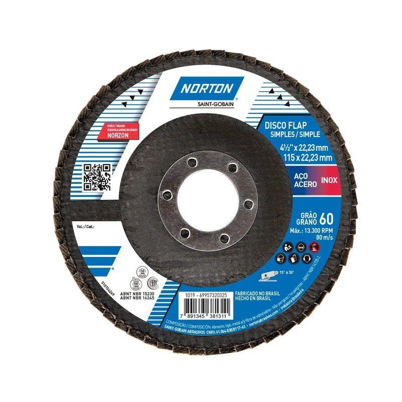 DISCO FLAP 115 G60 R822 NORTON