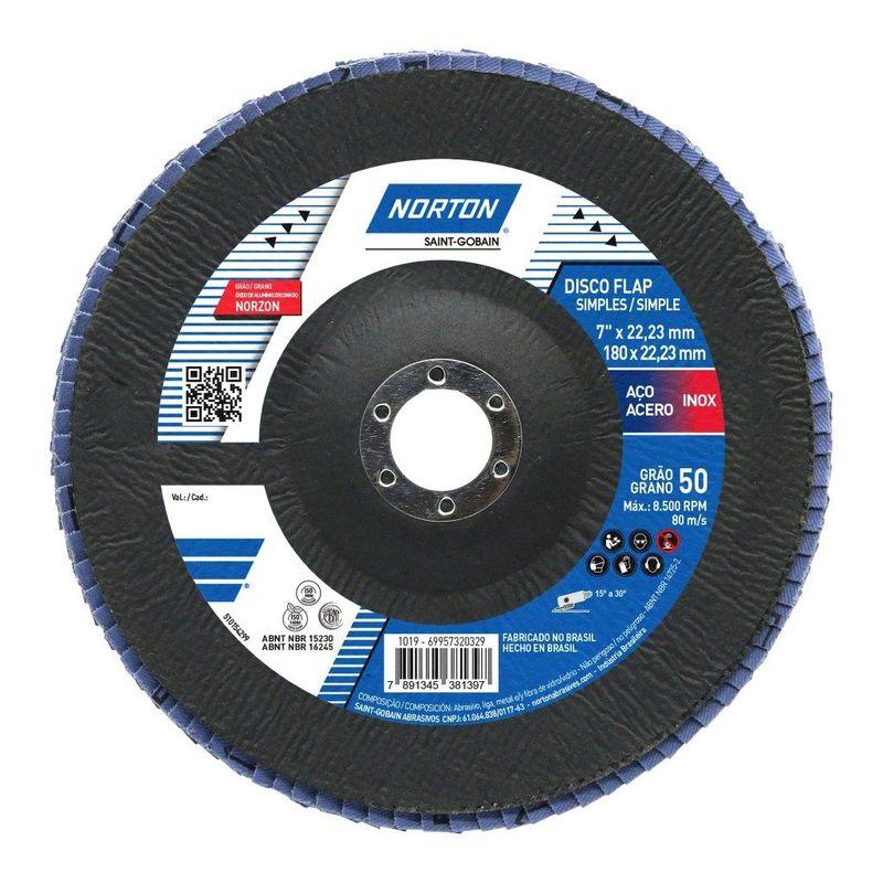DISCO FLAP 180 G50 R822 NORTON