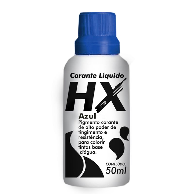 CORANTE LIQUIDO AZ TUBO 50ML HIDRACOR