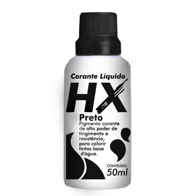 CORANTE LIQUIDO PR TUBO 50ML HIDRACOR