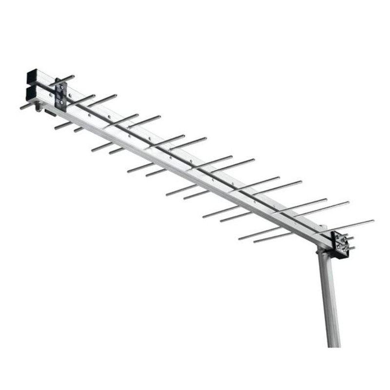 ANTENA EXT. 16 ELEMENTOS HD UHF VHF LP2000 PRIMETECH