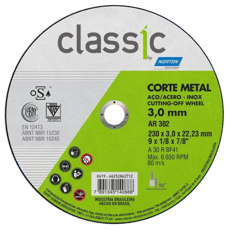 DISCO CORTE FE 9 AR302 2T CLASSIC NORTON