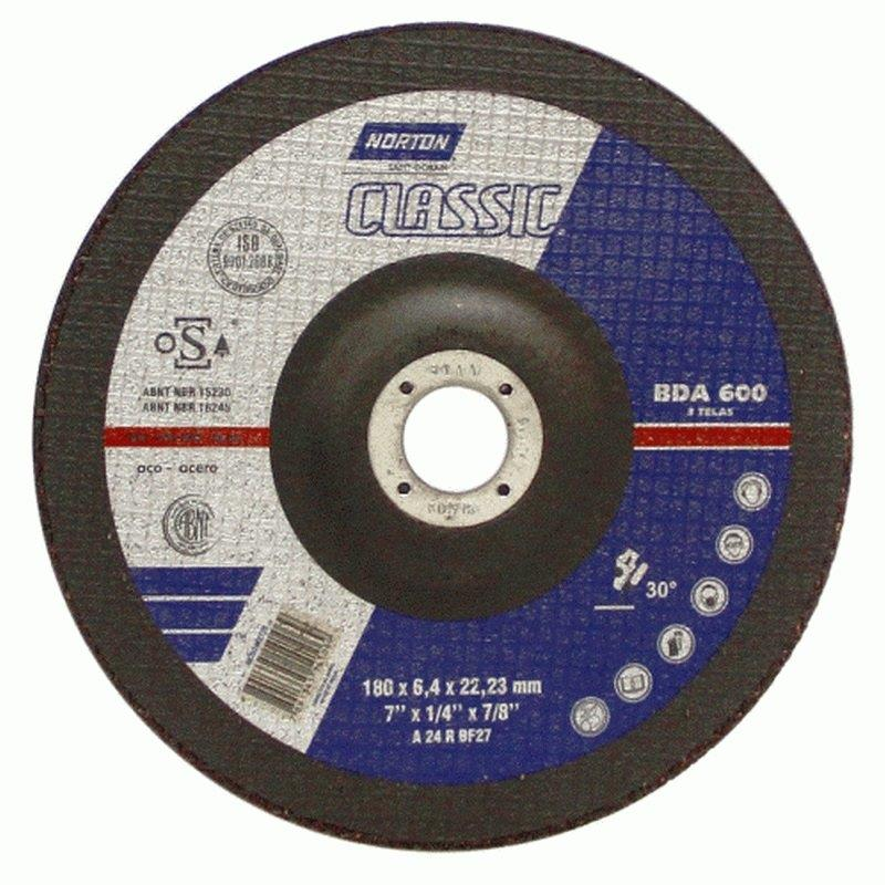 DISCO DESBASTE FE 7 180BDA600 CLASSIC NORTON