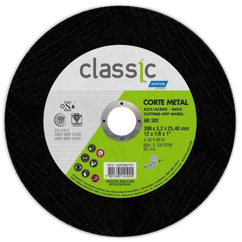 DISCO CORTE FE 12 AR302 1 CLASSIC NORTON