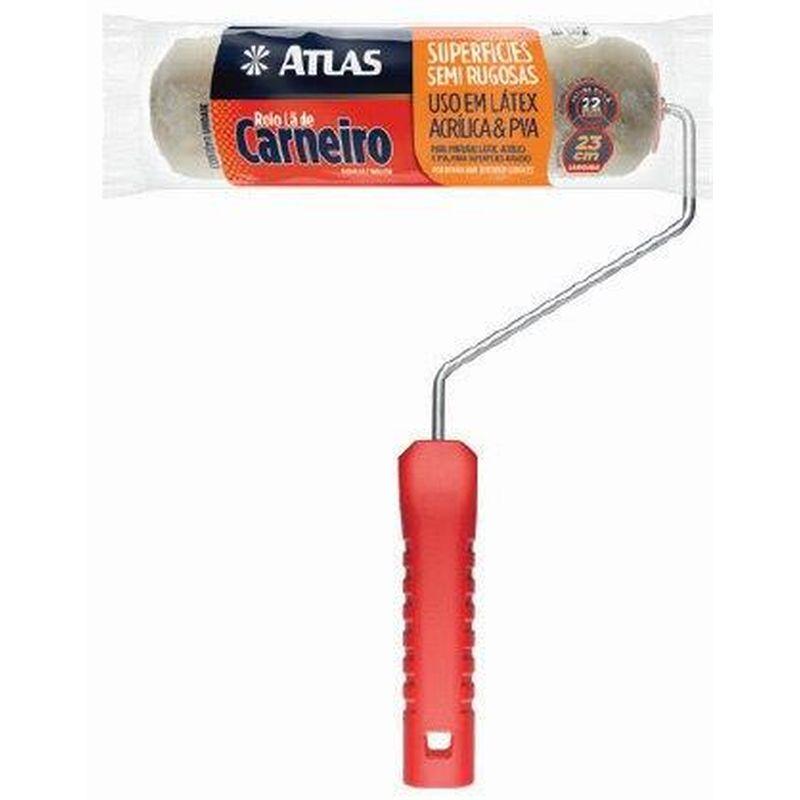 ROLO LA CARNEIRO C/ CABO 23CM 2328SR ATLAS -