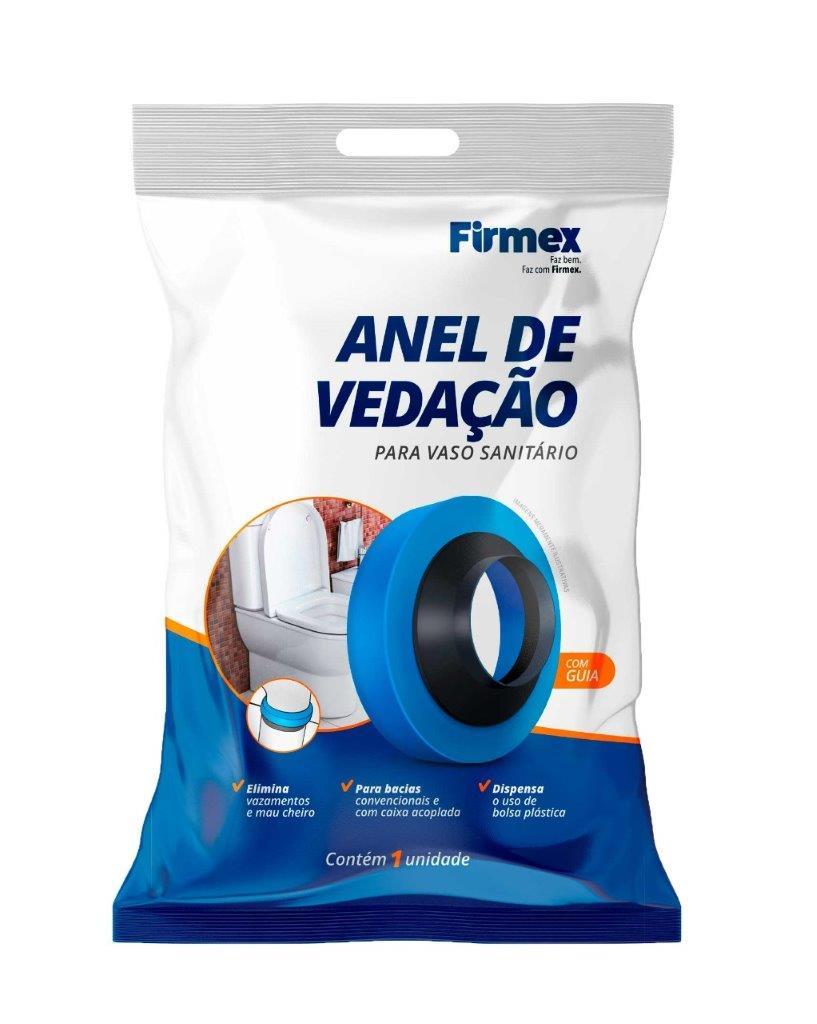 ANEL VEDACAO SAIDA VASO SANIT VEDANEL C/ GUIA 100MM FIRMEX