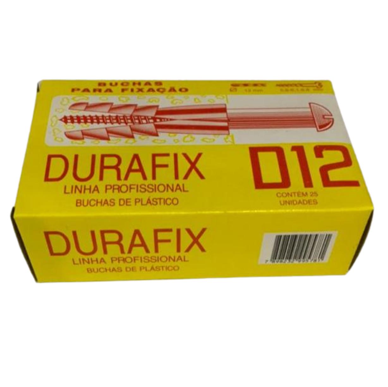 BUCHA NYLON D-12 (CX C/ 25) DURAFIX