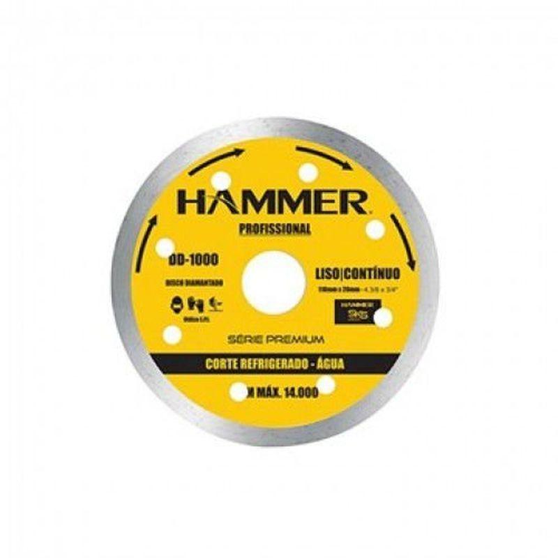DISCO DIAMANTADO CONT 110X20 GYDD1000 HAMMER/GOODYER