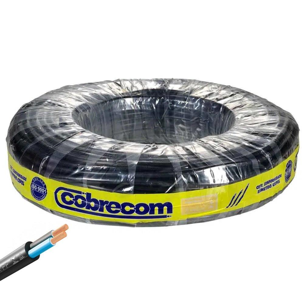 CABO FLEX PP 500V 2X1.0 PR COBRECOM