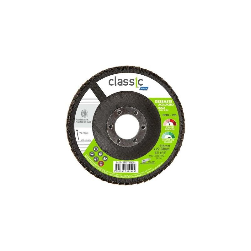 DISCO FLAP 115 G120 R801 CLASSIC NORTON
