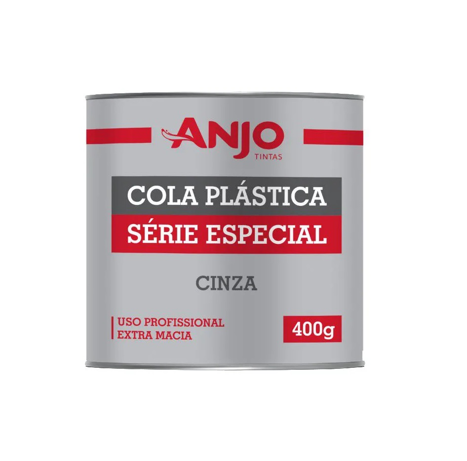 ADESIVO MASSA PLASTICA 400G CZ ANJO