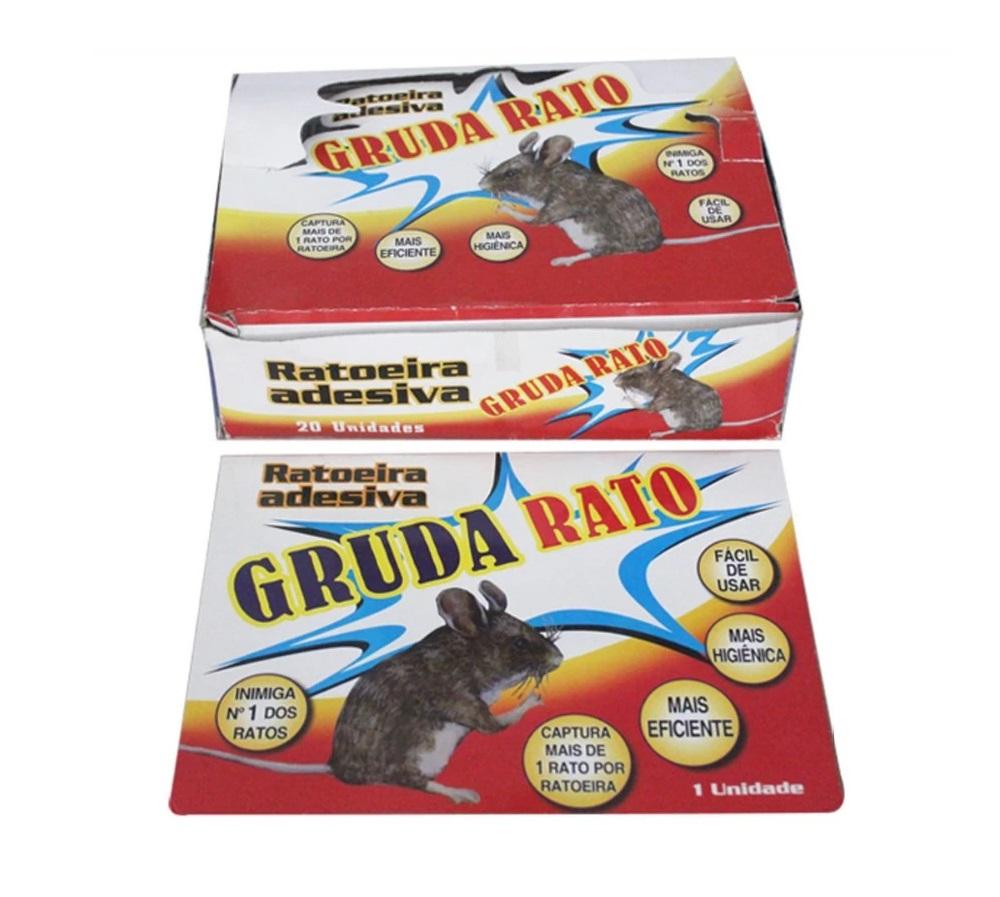 RATOEIRA ADESIVA CX/20 GRUDA RATO