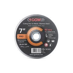 DISCO CORTE FERRO/INOX 7X1.6 WA36 TBF AM (BNA12) CGW