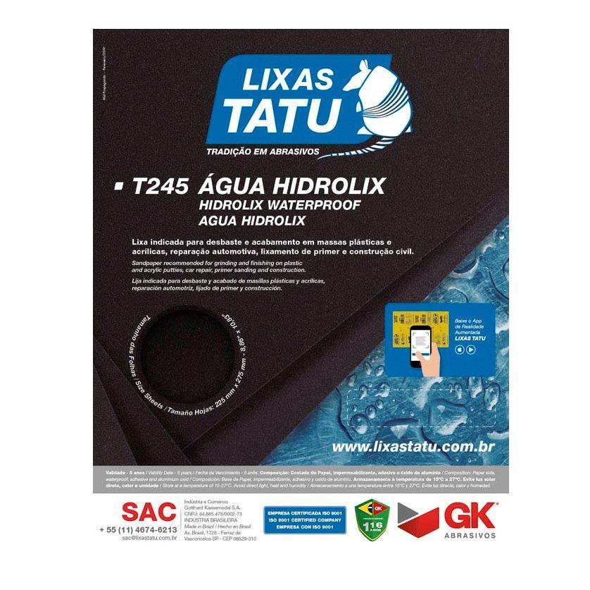 LIXA D AGUA G100 T245 TATU