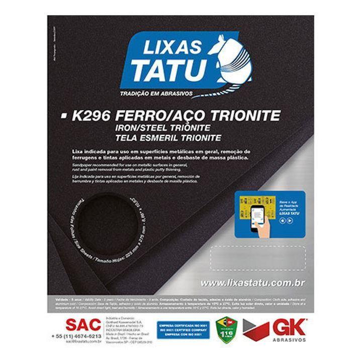 LIXA FERRO G100 K296 TATU
