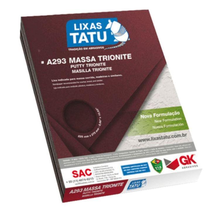 LIXA MASSA G120 A293 TATU