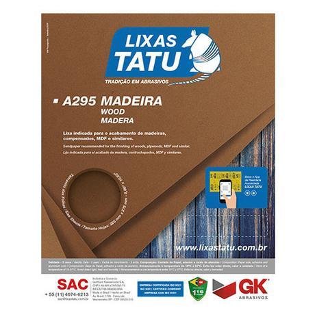 LIXA MADEIRA G180 A295 TATU