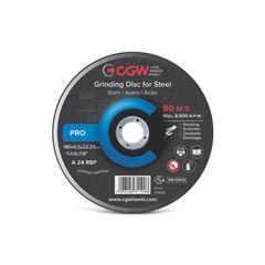 DISCO DESBASTE 4.1/2X6.5 A24R CGW