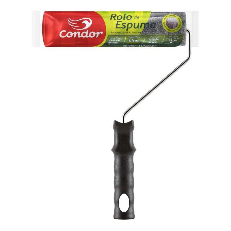 ROLO ESPUMA COMPLETO CABO METAL (ESM SINT) 8094 15 CONDOR
