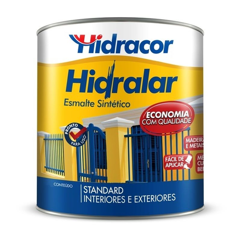 ESMALTE STAND BR 3,6L HIDRACOR