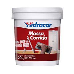 MASSA CORRIDA 20KG HIDRACOR