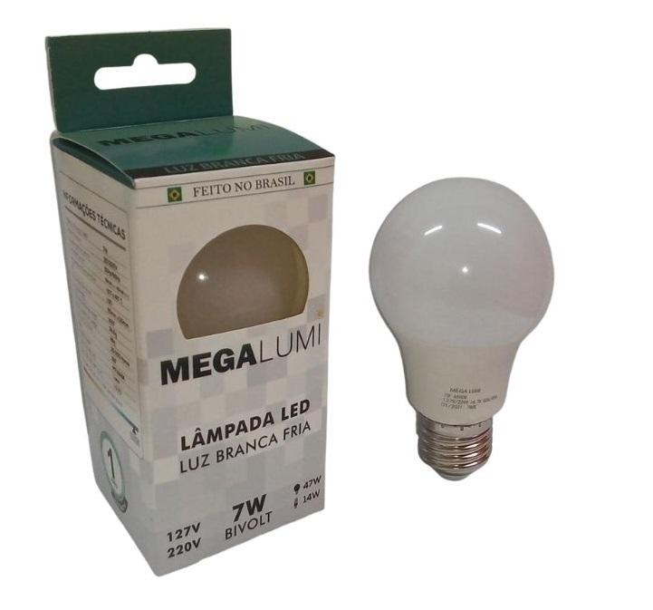 LAMPADA LED BULBO 7.0W MEGA LUMI