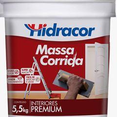 MASSA CORRIDA 5,5KG HIDRACOR