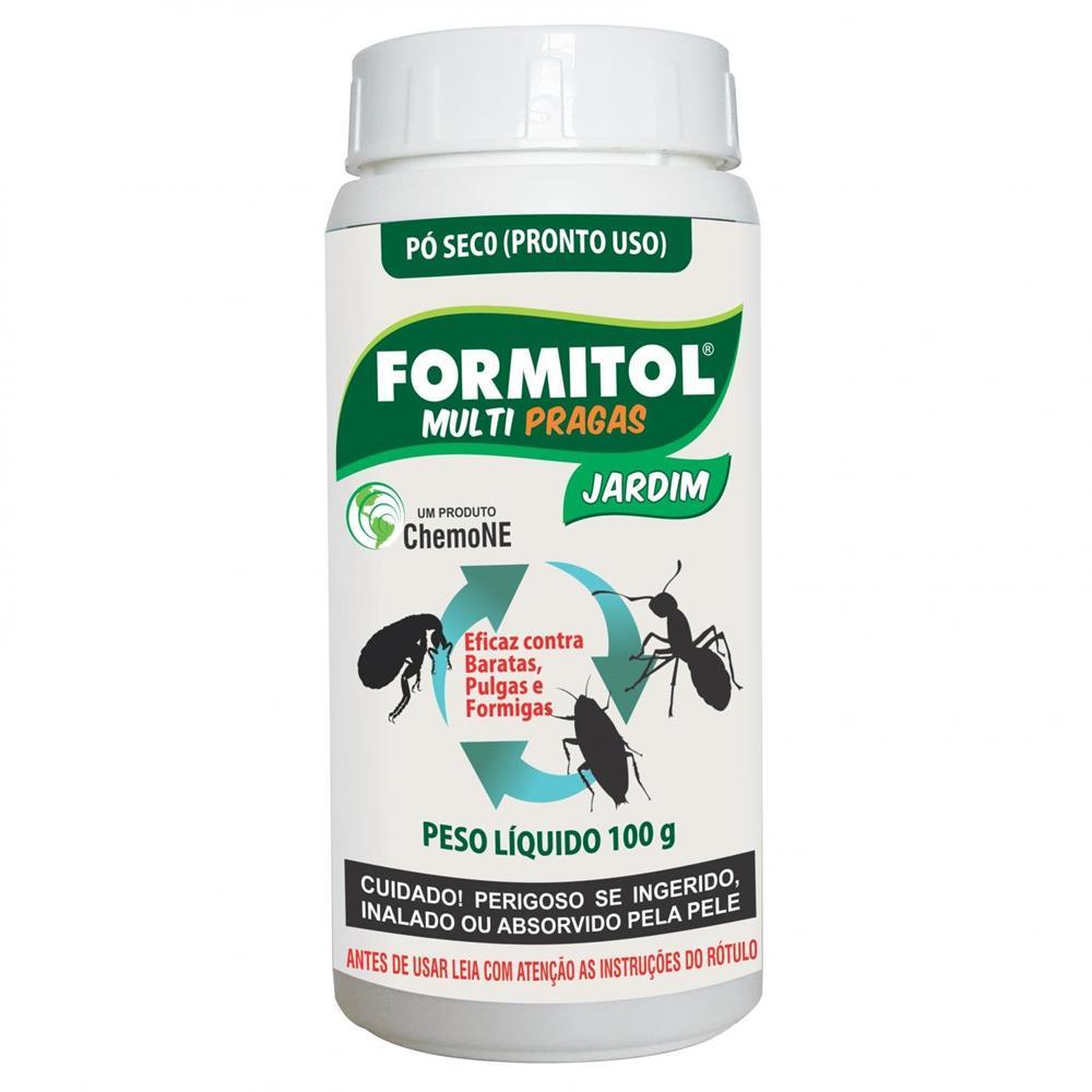 INSETICIDA FORMITOL PO MULTI PRAGAS  100G CHEMONE