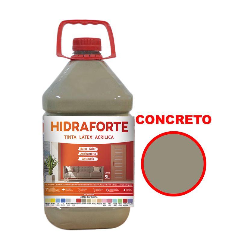 TINTA ACRILICA INT ECON 5LT CONCRETO HIDRAFORT