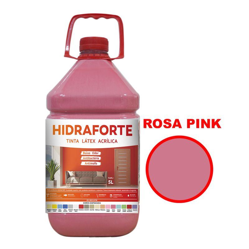TINTA ACRILICA INT ECON 5LT ROSA PINK HIDRAFORT